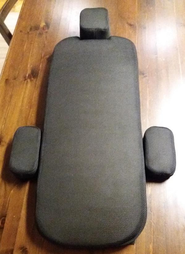 Soft seat cushion set