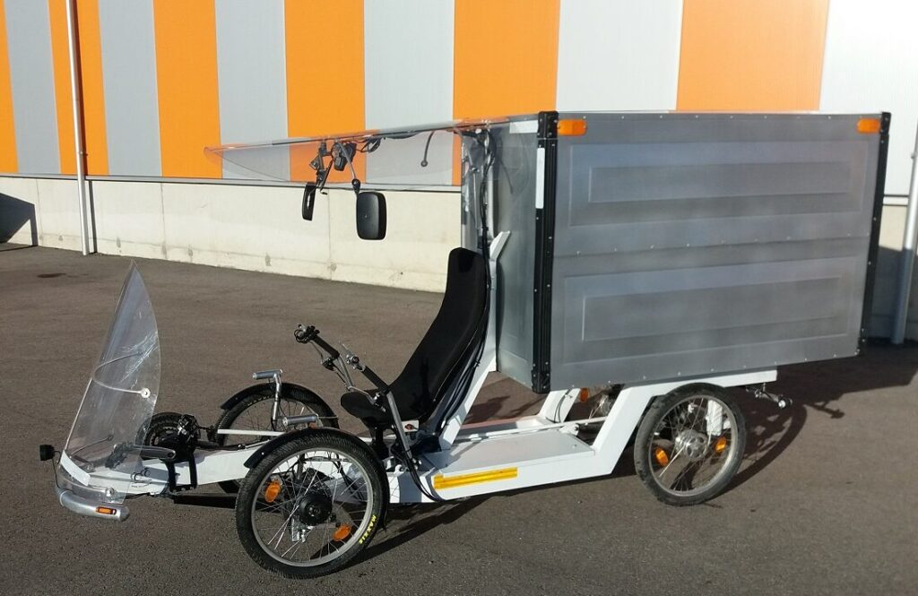 VeloOne Cargo velomobile prototype
