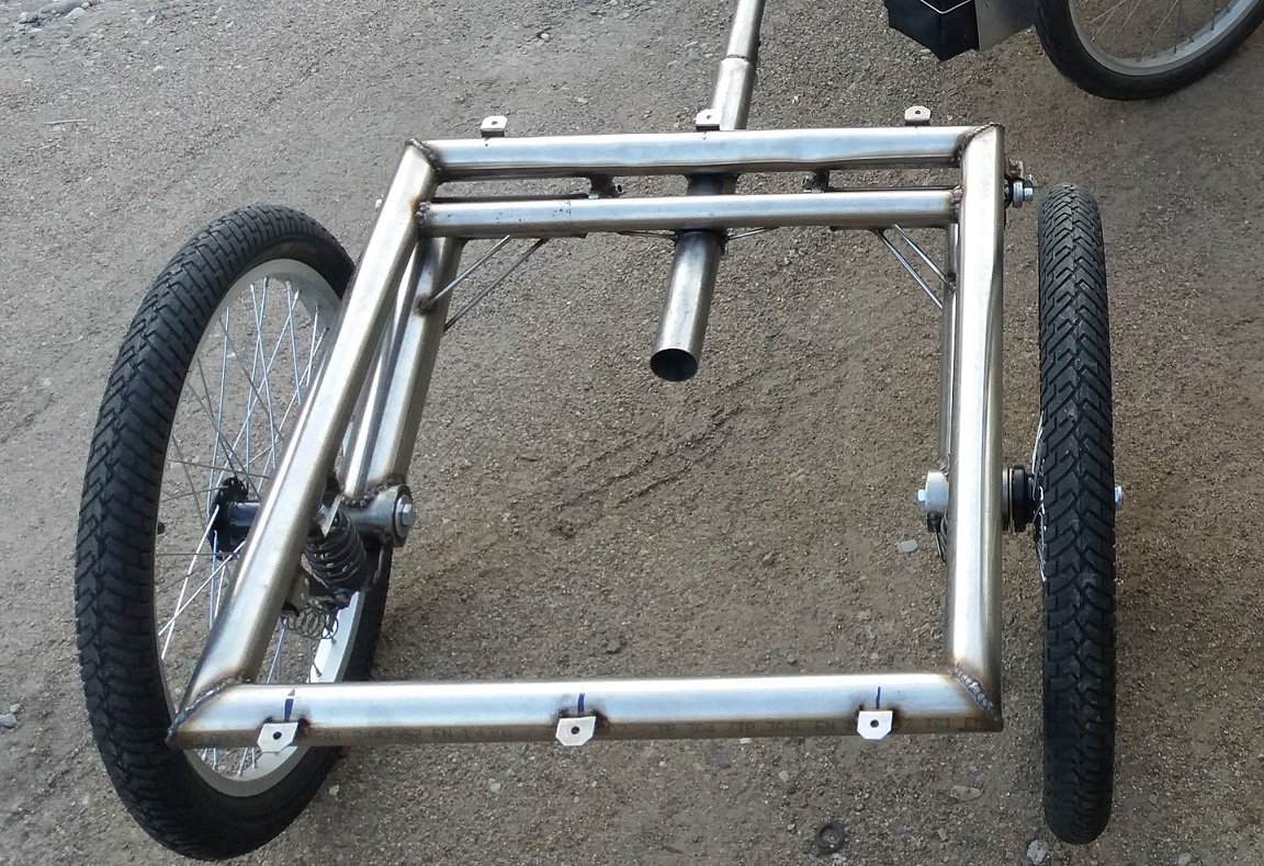 Trailer with suspension